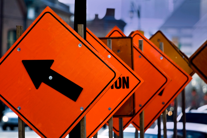 Tips for Driving through a Work Zone
